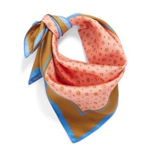 J CREW 100% silk scarf